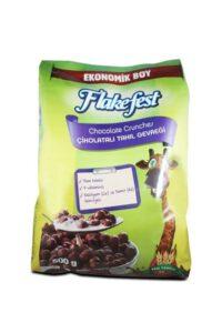 FLAKEFEST Çikolatalı Tahıl Gevreği 500 gr